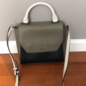 NWOT Olive Green and Black Crossbody